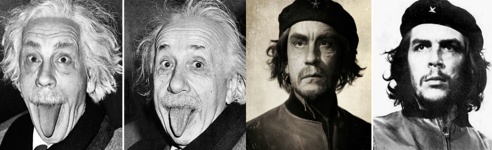 Iconic Portraits Iconic Portraits recreated by John Malkovich and Sandro Miller being john malkovich famous portrait photographers