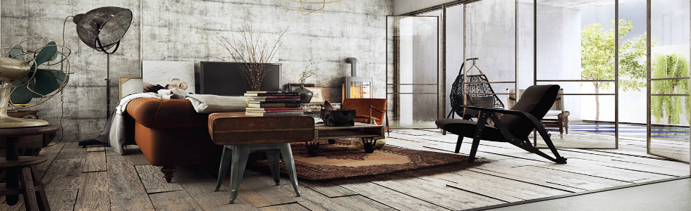 Meet These Vintage Tree Houses With a Contemporary Twist Meet These Vintage Tree Houses With a Contemporary Twist brown sofa 1