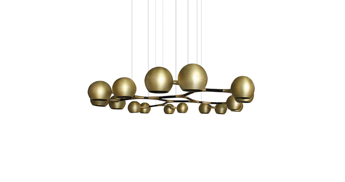How to Decorate Your Bedroom with Brass Chandelier Elle Décor Tips: How to Decorate Your Bedroom with Brass Chandelier Elle Décor Tips: How to Decorate Your Bedroom with Brass Chandelier horus brass suspension lighting 1
