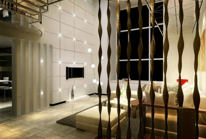 HOW TO USE A WALL SCREEN DIVIDER IN THE LIVING ROOM HOW TO USE A WALL SCREEN DIVIDER IN THE LIVING ROOM HOW TO USE A WALL SCREEN DIVIDER IN THE LIVING ROOM modern wall lighting fixtures plus square leather ottoman feat stylish divider idea for living room 1024x691