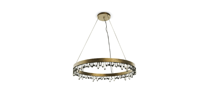 How to Decorate Your Bedroom with Brass Chandelier Elle Décor Tips: How to Decorate Your Bedroom with Brass Chandelier Elle Décor Tips: How to Decorate Your Bedroom with Brass Chandelier naicca suspension light 2