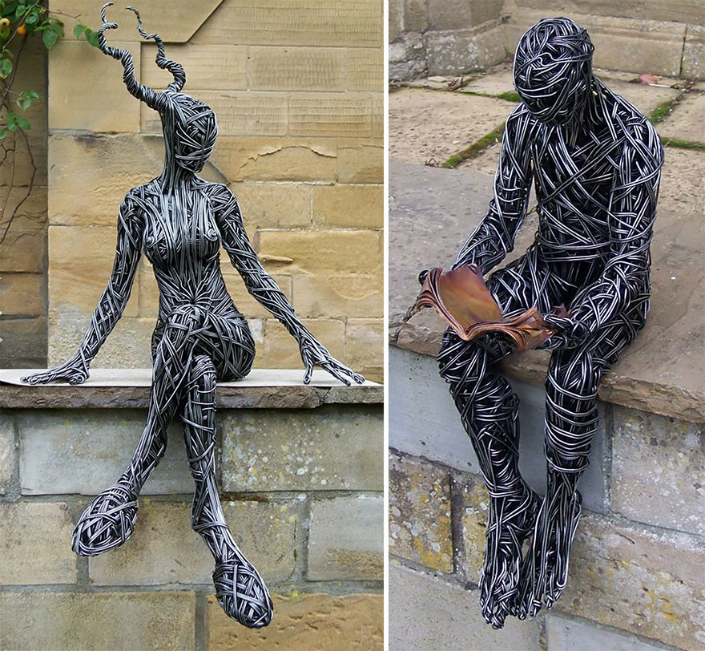 Wire Sculpture by Richard Stainthorp 2