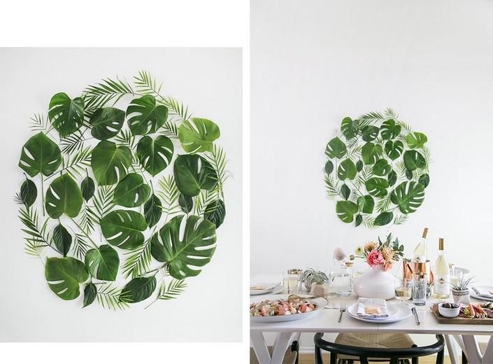Home decor Ideas: Use tropical leaves Home decor Ideas Home decor Ideas: Use tropical leaves Home decor Ideas Use tropical leaves