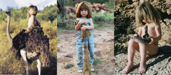 wild animals Tippi, the little girl who grew up alongside wild animals Tippi the little girl that grow up alongside wild animals Breathtaking Photos 12