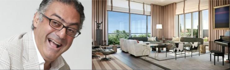 Top 100 UK Famous Interior Designers - Rabih Hage