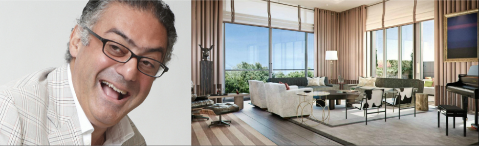Top 100 uk famous interior designers rabih hage for Celebrity interior designers