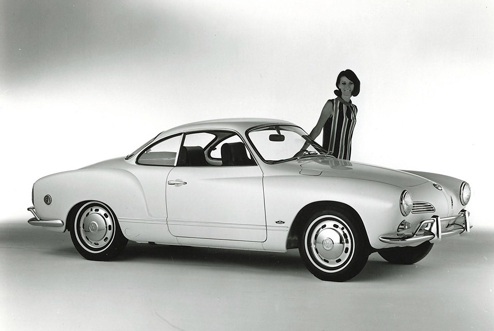 The most beautiful Italian cars - Volkswagen Karmann Ghia best looking cars From the Aston Martin DB4 to the alfa romeo:the best looking cars ever VW