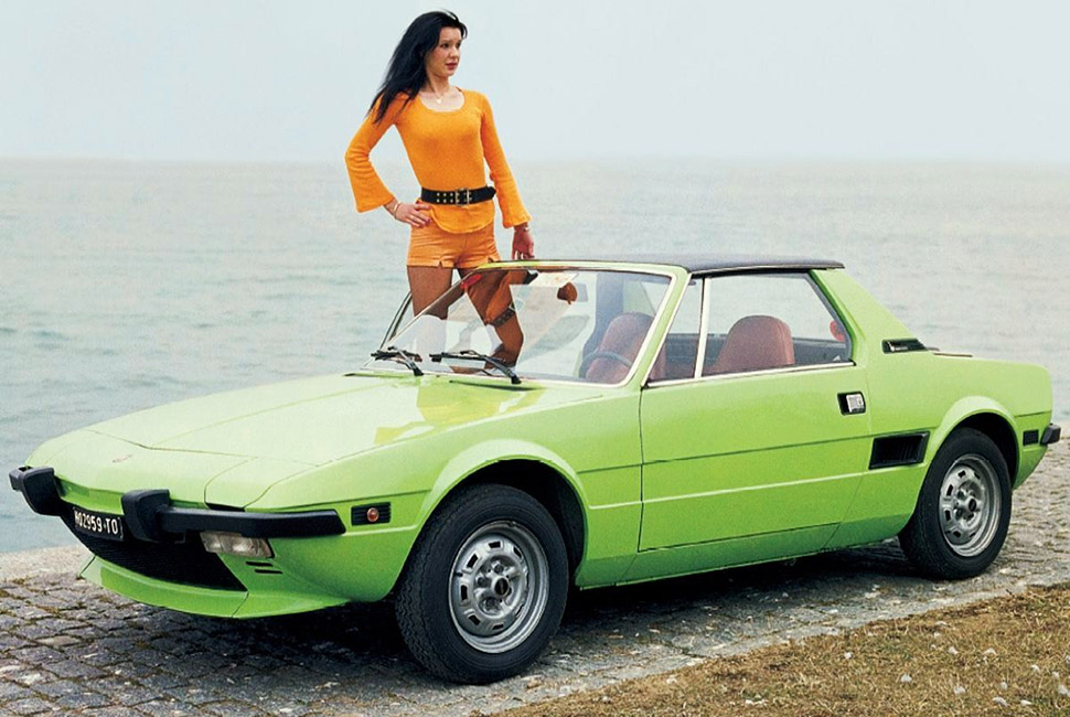 The most beuatiful Italian cars - Fiat X1/9 best looking cars From the Aston Martin DB4 to the alfa romeo:the best looking cars ever fiat x1 bertrone