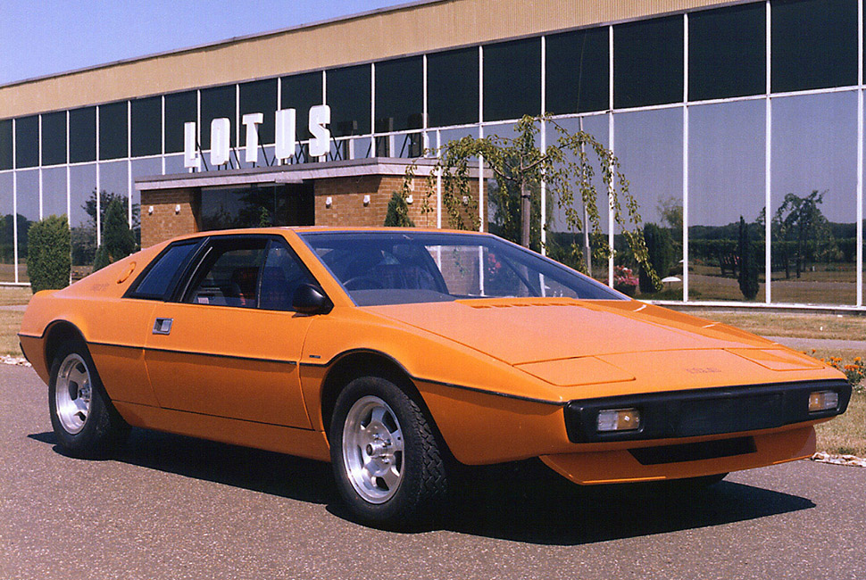 The most beautiful Italian cars - Lotus Esprit best looking cars From the Aston Martin DB4 to the alfa romeo:the best looking cars ever lotus espirit