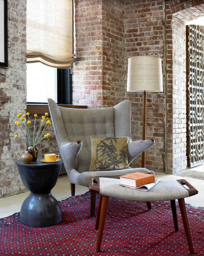 13 industrial style home Get an industrial style home by using exposed brick walls 13