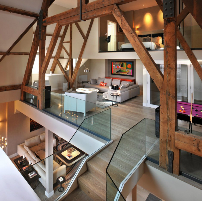1 Modern Home Decor 7 Historic Buildings With a Modern Home Decor 15