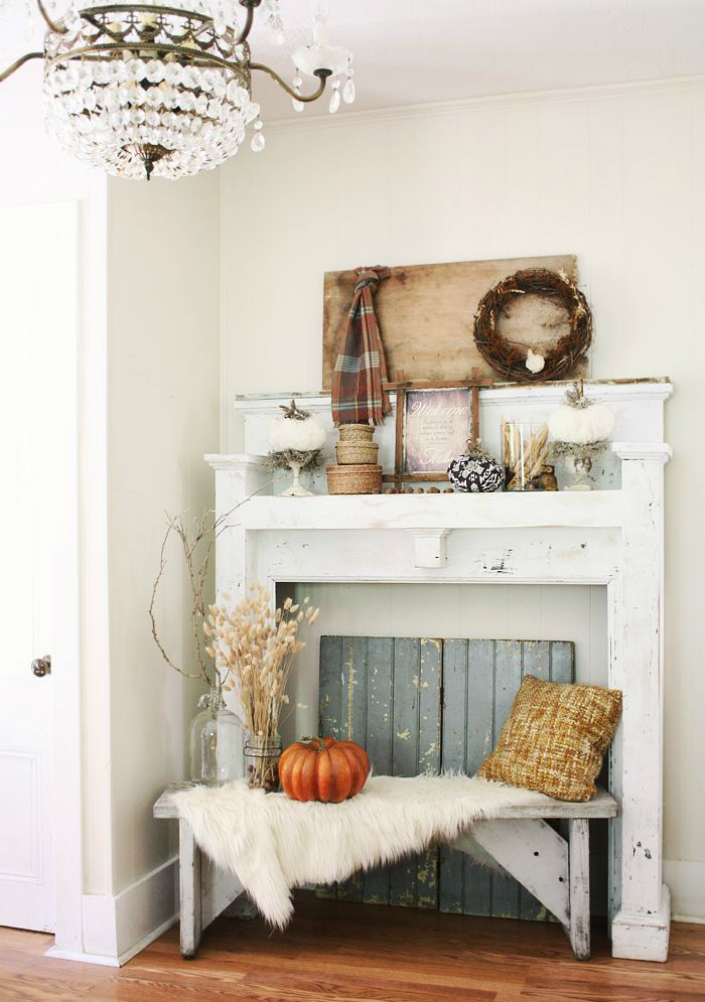 Fall Decorating Ideas On Pinterest For