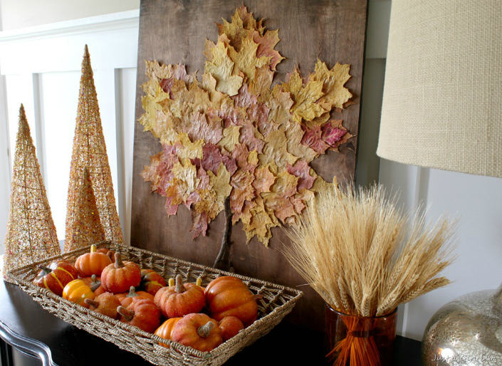 7 easy fall decorating ideas for your walls - Fall decor trends five tips to spruce up your homes ...