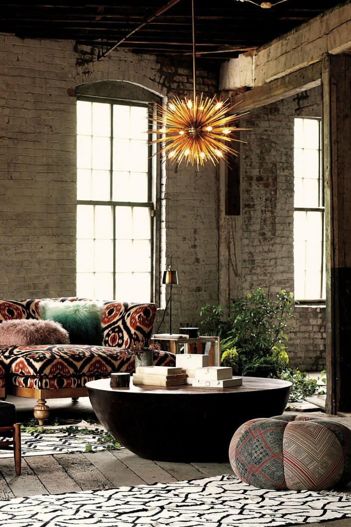 brick walls, industrial style, industrial style homes, exposed brick walls industrial style home Get an industrial style home by using exposed brick walls D1