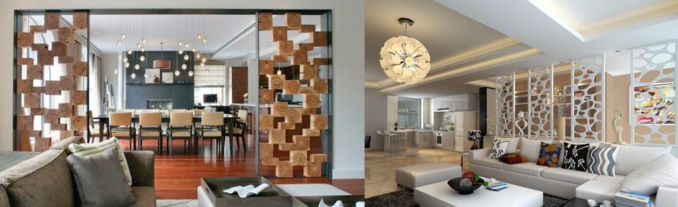 Room decor dividers