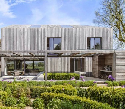 Houses where we want to live – Oxforshire's minimalistic house