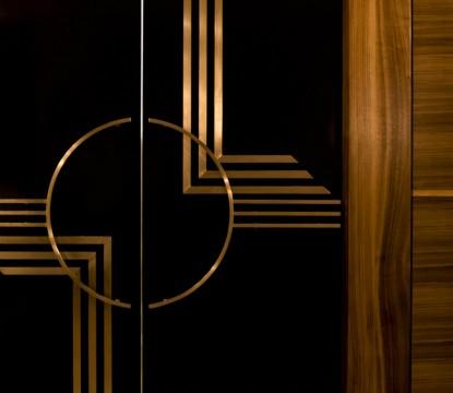 Interior Design Trends Contemporary Lighting With Smoky Glass