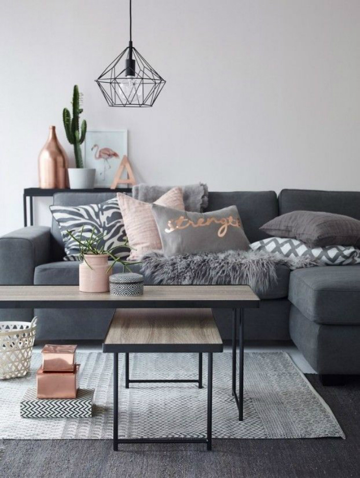 Living Room Ideas 2016 Decorating With Copper