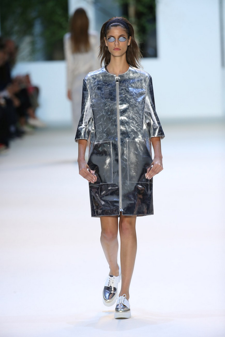 Swiss fashion house Akris get inspiration in Sou Fujimoto's buildings for the Spring Summer 2016 Collection (1)