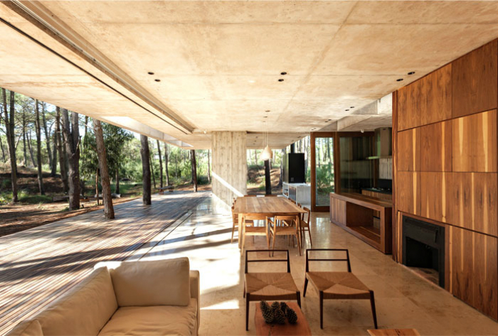 houses where we want to live: spacious full of light argentinian house, Hause deko