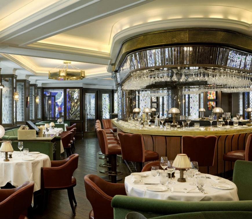 London Restaurant Hotspots Guide, designed by Martin Brudnizki