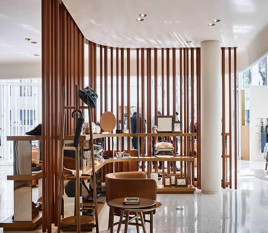 Hermès New Fashion Store At Miami Design District Inspired By Nature Gorgeous Furniture Stores Miami Design District