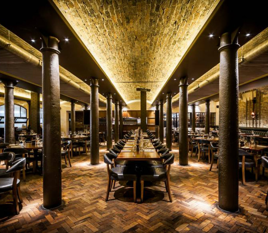Coolest Places To Eat London: The Famous Steakhouse Hawksmoor
