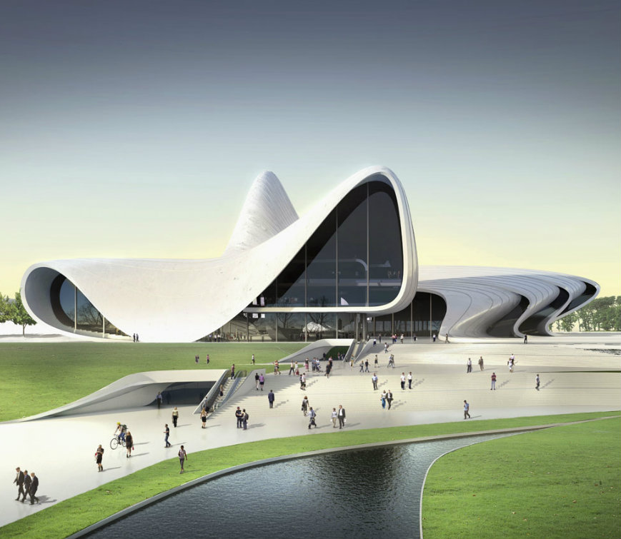 zaha hadid TOP Interior Designers | Zaha Hadid Zaha Hadid Cultural Center Renderings05