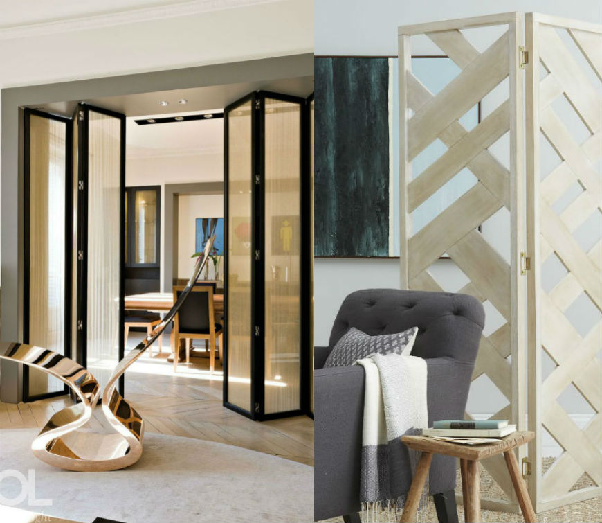 5 Contemporary Folding Screen to Decorate Your Modern Living Room 6