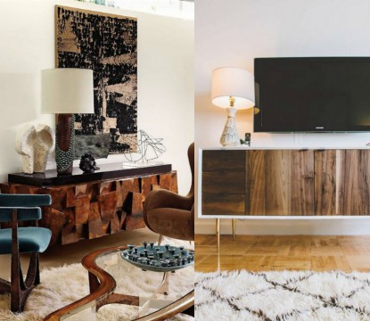 Living room ideas 2016: Top 5 console tables with drawers