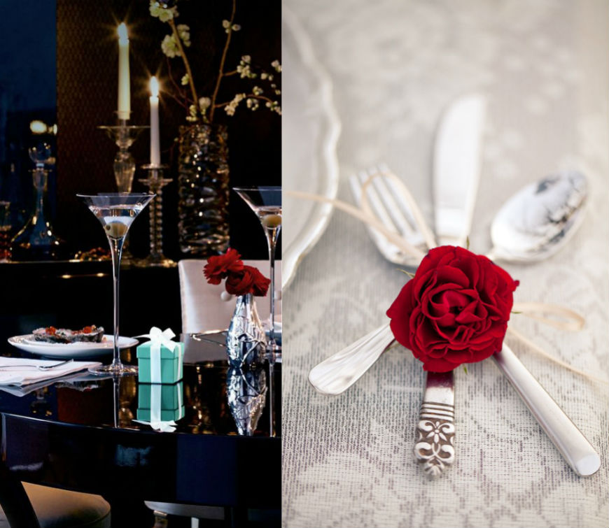 Valentine´s Day Ideas Set your Table For the Romance