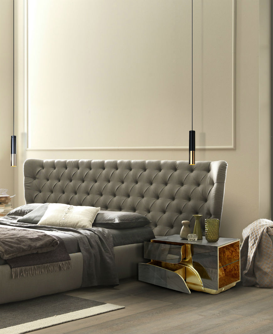 Resultado de imagem para headboard brabbu bedroom Fresh New Looks Will Help You To Layout The Bedroom Bedroom Design Ideas for a Modern Interior Design 5