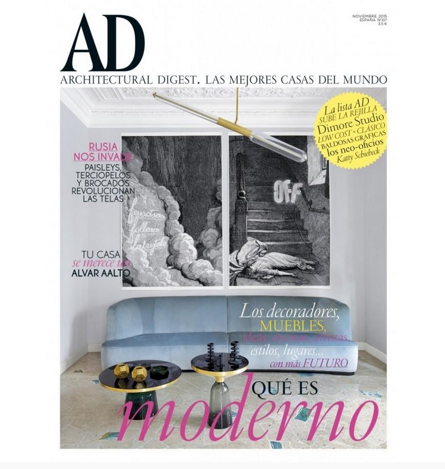 Best interior design magazines ad spain Best interior design magazines – AD Spain turned 10! Best interior design magazines AD Spain turned 10 november 2015