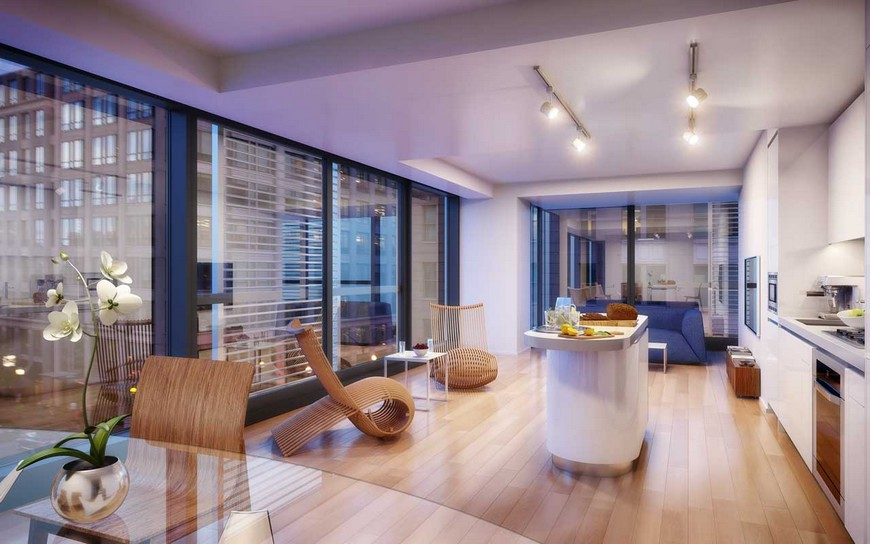 luxury interior design foster and partners Top 5 interior projects by Foster and Partners City Center DC1
