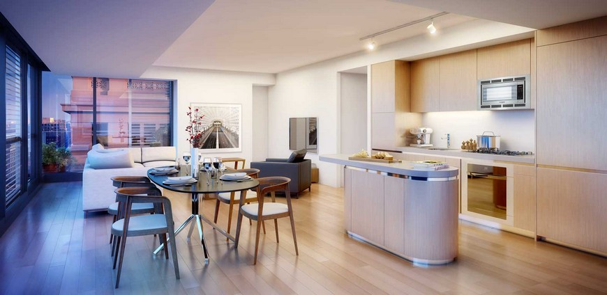contemporary living room foster and partners Top 5 interior projects by Foster and Partners City Center DC2