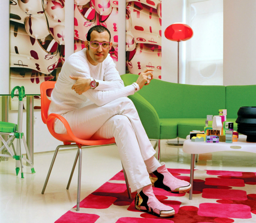 Famous interior designers karim rashid design projects for Celebrity interior designers