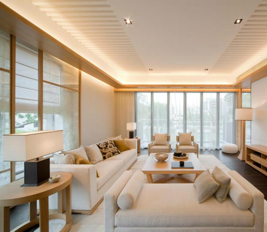 Glamorous Interior House Design With Cream Tons (2)