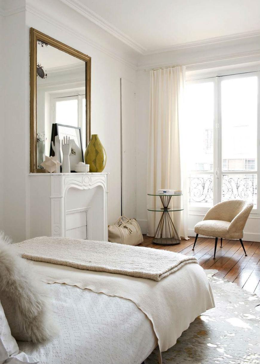 Glamorous Interior House Design With Cream Tons