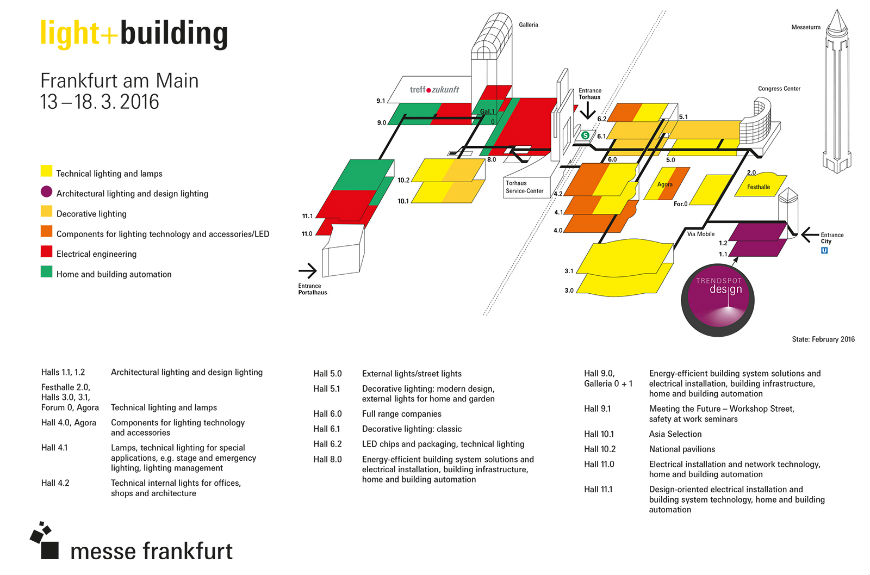 Light + Building Messe Frankfurt 2016 Dates and Events (4) light + building Light + Building Messe Frankfurt 2016: Dates and Events Light Building Messe Frankfurt 2016 Dates and Events 4