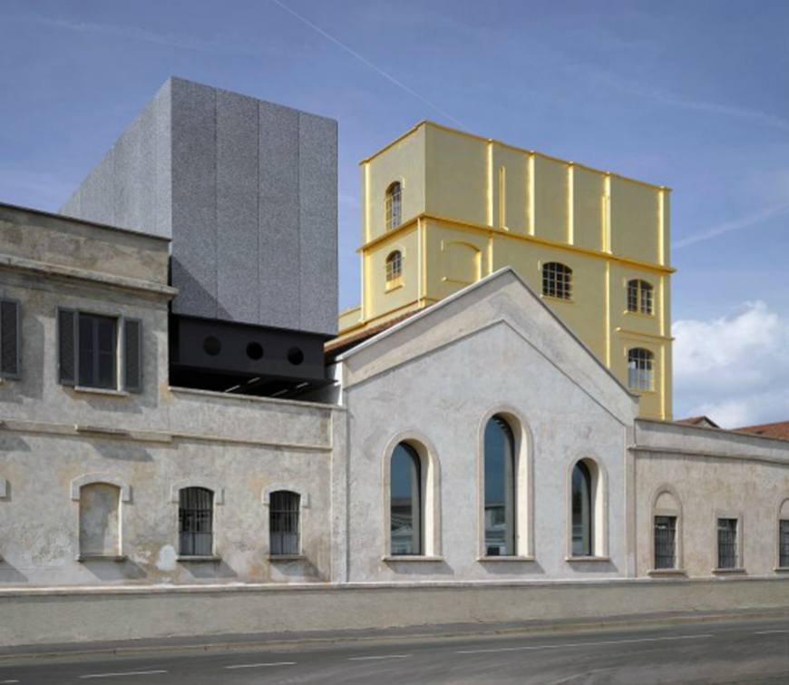 Modern Architecture Discover Fondazione Prada in Milan (2)
