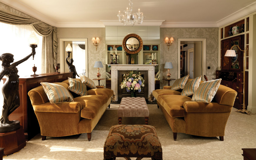 The best 5 star hotels in london for 5 star living rooms