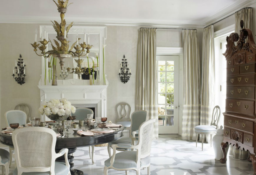 Top designers show their best dining rooms ideas for Best dining rooms 2016