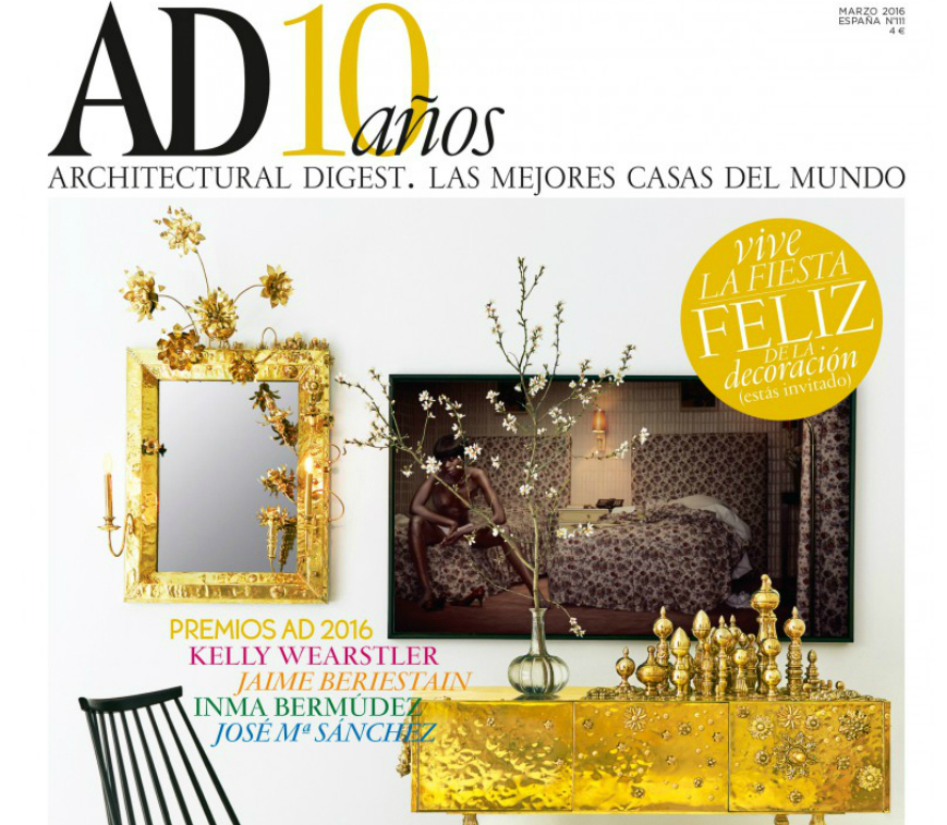 Best interior design magazines - AD Spain turned 10!