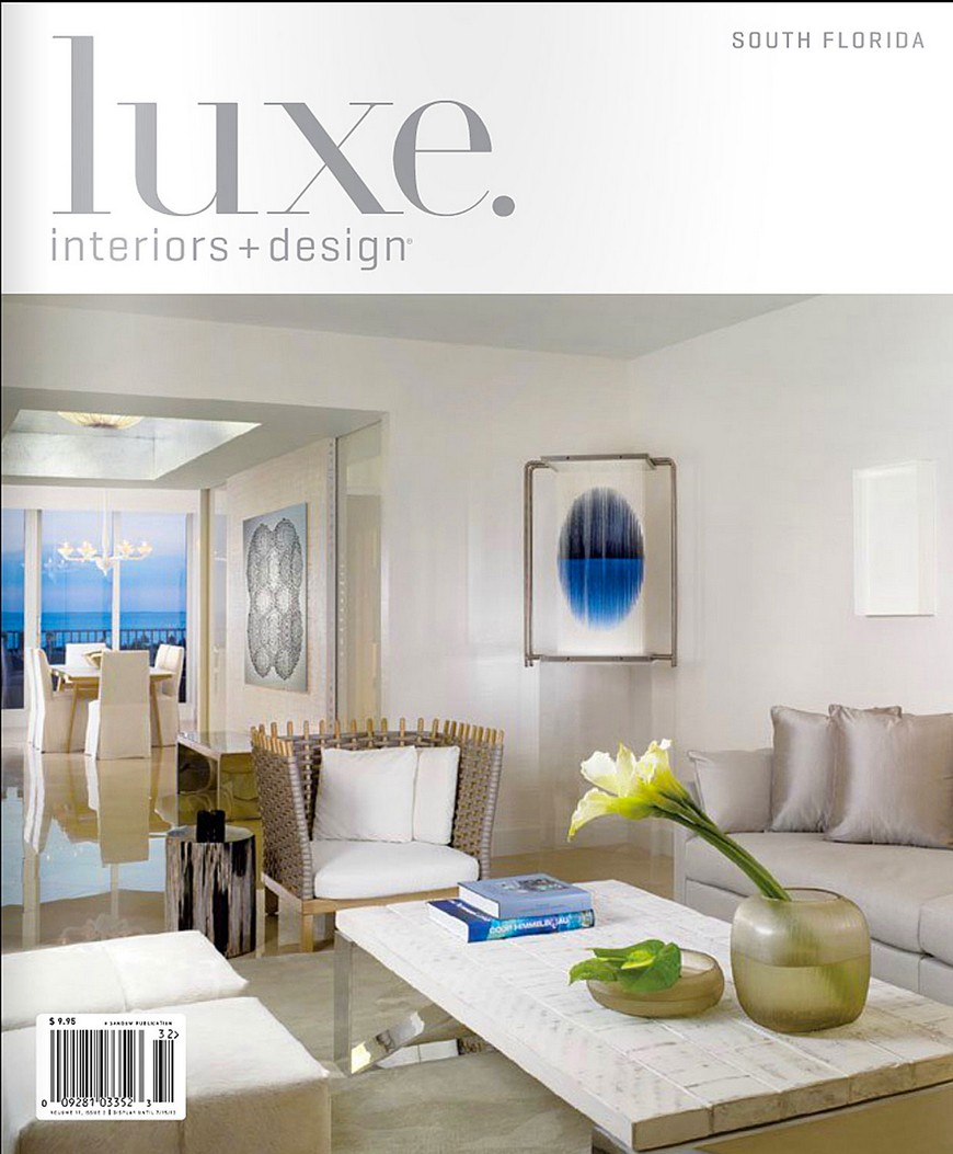 Best interior design magazines elle d cor may for Top home designers