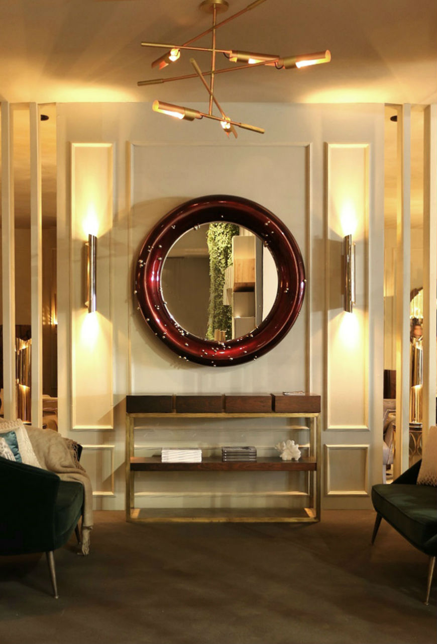 How to Hang a Modern Mirror? The Best Interior Design Tips