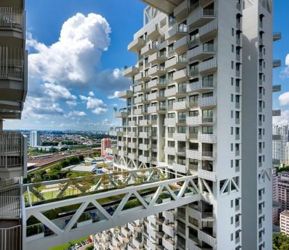 MODERN ARCHITECTURE FABULOUS POOL ON SINGAPORE'S SKY