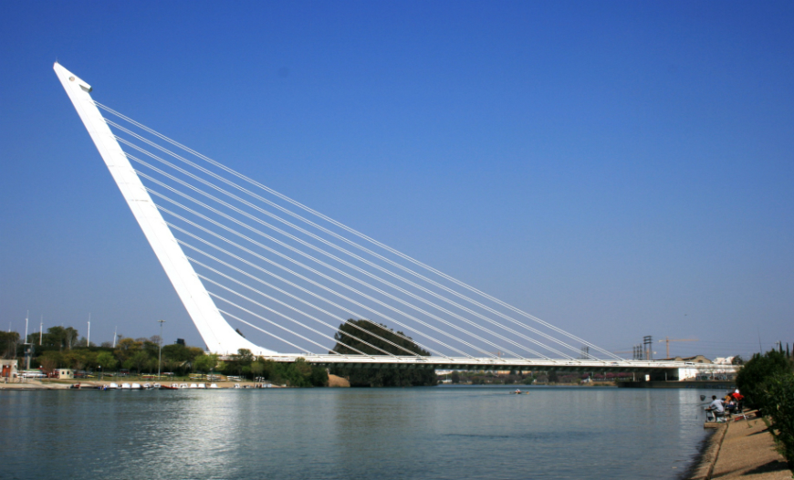 Modern Architecture by Top Architect Santiago Calatrava - Alamillo Brigde modern architecture Modern Architecture by Top Architect Santiago Calatrava Modern Architecture by Top Architect Santiago Calatrava Alamillo Brigde