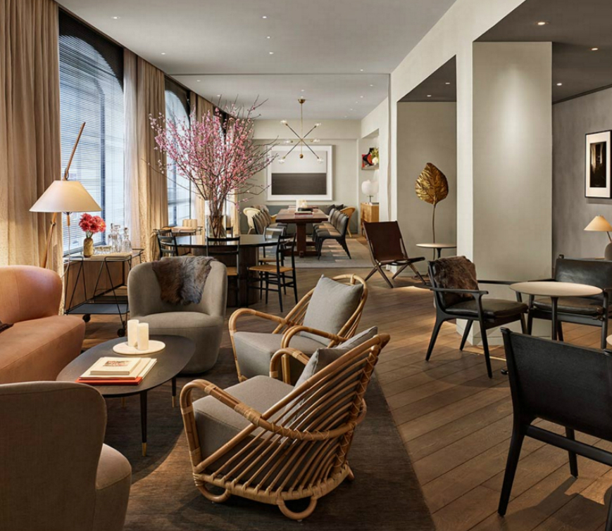 Hospitality interior designers new york for Hotel design blog