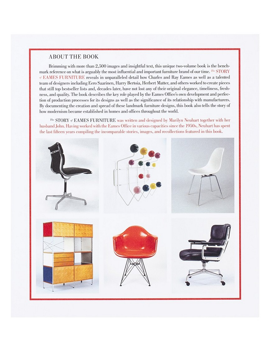 Best Interior Design Books The Story Of Eames Furniture