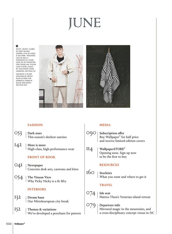 Best Design Magazines: Wallpaper June design magazines Best Design Magazines: Wallpaper June 2 5
